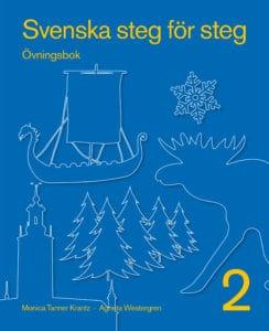 Svenska steg för steg 2 övningsbok. Omslag: John Wasden.
