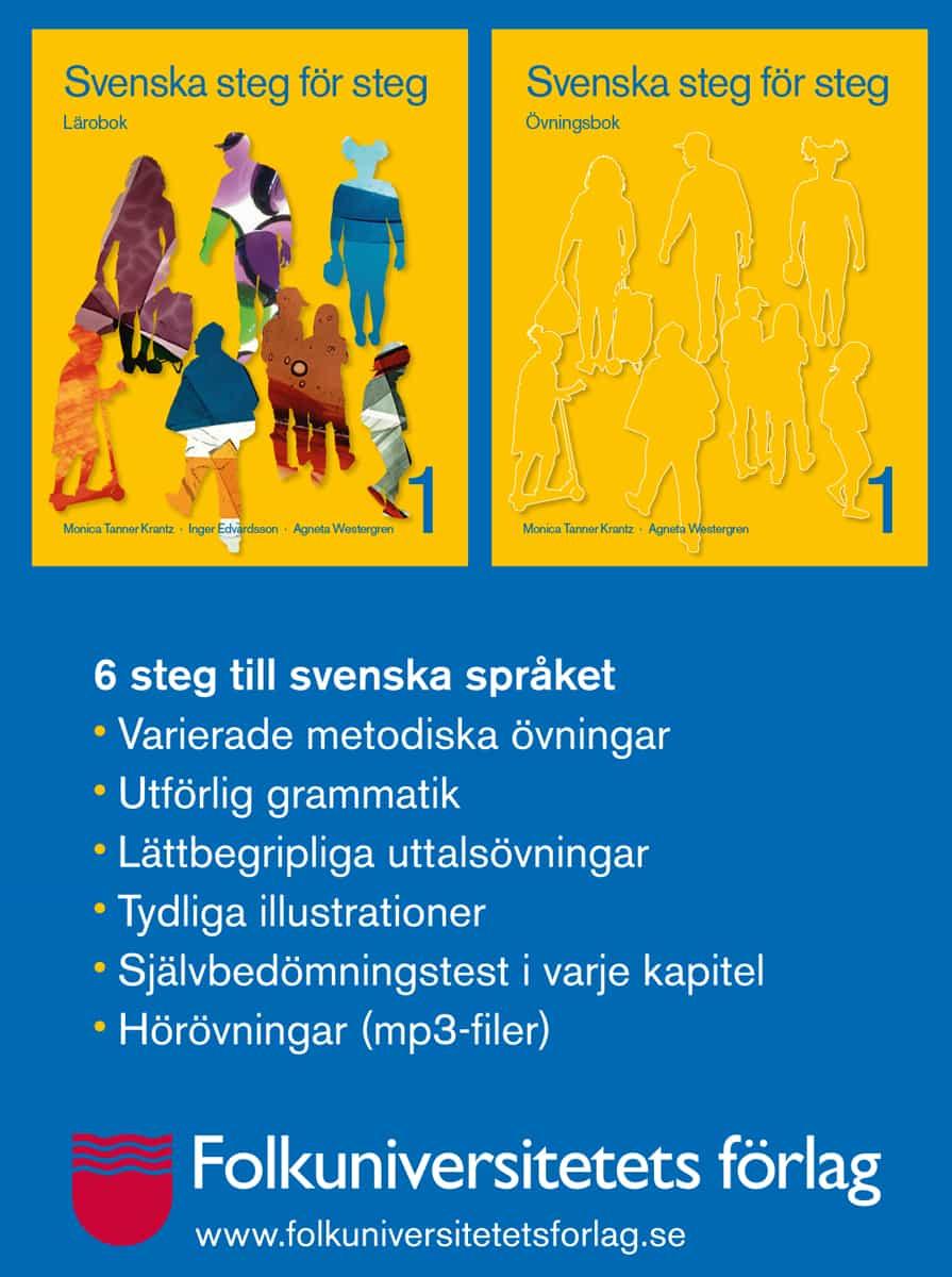 6 steg till svenska språket